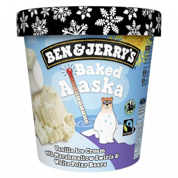 Ben & Jerry's Baked Alaska 465ml